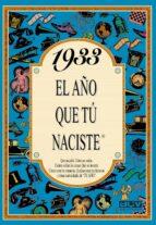 1933 el año que tu naciste-rosa collado bascompte-9788488907707