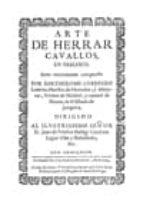 el arte de herrar cavallos, en dialogo-bartolomé guerrero ludeña-9788497044707