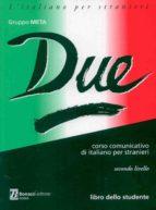 due-libro dello studente-secondo ñivello-9788875732707