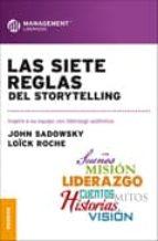 las siete reglas del storytelling john sadowsky 9789506417307