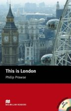 macmillan readers beginner: this is london pack-phillip prowse-9781405087117