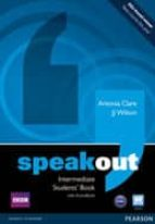 speakout intermediate students book and dvd/active book multi rom pack antonia clare 9781408219317