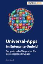 universal apps im enterprise umfeld (ebook) kevin gerndt 9783868026917