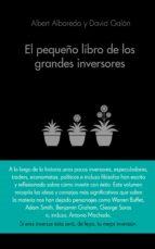 el pequeño libro de los grandes inversores-albert albareda-david galan-9788416253517