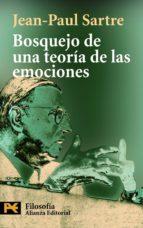 bosquejo de una teoria de las emociones-jean-paul sartre-monica acheroff-9788420659817