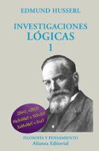 investigaciones logicas, t.i edmund husserl 9788420681917