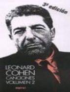 canciones ii (leonard cohen) leonard cohen 9788424505417