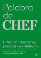 palabra de chef (ebook)-nach waxman-9788425230417