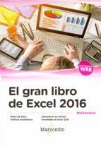 el gran libro de excel 2016 9788426724717