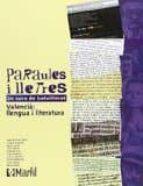 PARAULES I LLETRES 2º BATXILLERAT
