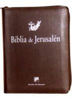 biblia de jerusalen edicion manual con cremallera 9788433027917