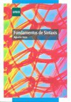fundamentos de sintaxis agustin vera lujan 9788436261417