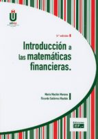 introduccion a las matematicas financieras maría machín moreno 9788445437117