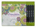 kit diseña tu primavera: liberate del estres coloreando motivos florales 9788448021917