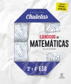 ejercicios de matemáticas 3.º y 4.º eso (chuletas 2016)-9788467044317