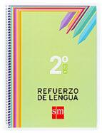 cuaderno refuerzo de lengua 2º eso 9788467515817