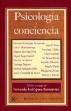 psicologia y conciencia-fernando rodriguez bornaetxea-9788472456617