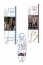 aprendamos a amar. proyecto de educacion afectivo sexual para jov enes de 15 a 18 años. 2 libros (guia, fichas y cd)-nieves gonzalez rico-9788478697717