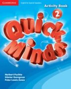 quick minds level 2 activity book spanish edition 9788483235317