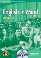 english in mind 2 workbook cd spanish speakers-9788483238417