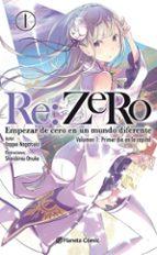 Re:Zero Nº 01(Novela)