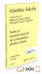 civitas: sobre la normativización de la dogmática jurídico-penal-günther jakobs-9788491526117