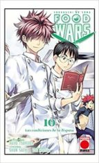 food wars 10: las condiciones de la disputa yuto tsukuda shun saeki 9788491671817