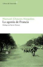 la agonia de francia-manuel chaves nogales-9788492663217