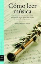 como leer musica harry baxter michael baxter 9788496924017
