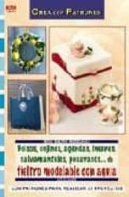 bolsos, cojines, agendas, imanes, salvamanteles, posavasos de fie ltro modelable con aguja ute kramer 9788498740417