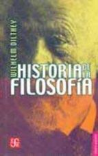 historia de la filosofia (2ª ed.)-wilhelm dilthey-9789681601317