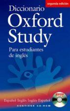 diccionario oxford study para estudiantes de ingles (español ingl es/ ingles español) (2nd ed.) (incluye cd rom) 9780194316927