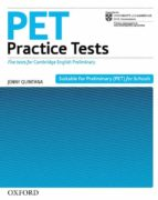 pet practice tests (without key) diana l. fried booth 9780194534727