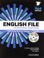 english file pre-intermediate student + workbook without key pack-9780194598927