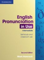english pronunciation in use second edition (intermediate) book with answers mark hancock 9780521185127