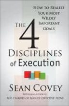 4 disciplines of execution sean covey 9780857205827