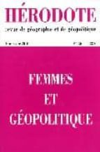 Enlaces de libros gratuitos Descargas gratuitas de libros electrónicos H136.femmes et geopolitique