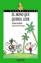 el mono que queria leer norma sturniolo 9788420790527