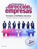 fundamentos de dirección de empresas. conceptos y habilidades dir ectivas-maria iborra-9788428399227