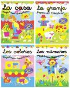 pegatinas didacticas (4 titulos: la granja, la casa, los colores, los numeros)-9788430562527