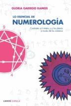 lo esencial de numerologia : conocete a ti mismo y a los demas a traves de los numeros-gloria garrido ramos-9788448047627