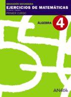 cuaderno 4 álgebra (1º eso)-9788466759427