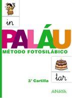 cartilla palau 3: metodo fotosilabico 9788467832327