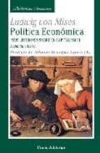politica economica ludwig von mises 9788472094727