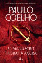 el manuscrit trobat a accra-paulo coelho-9788475883427