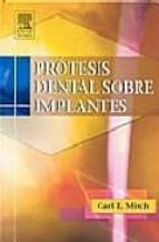 protesis dental sobre implantes-c.e. misch-9788481748727