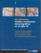 El libro de Sin distancias: familia y tendencias historiograficas en el siglo xx autor FRANCISCO CHACON JIMENEZ TXT!