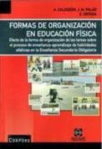 formas de organizacion en educacion fisica: efecto de la forma de organizacion-antonio calderon luquin-9788484257127