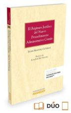 el régimen jurídico del nuevo procedimiento administrativo común-9788491354727