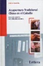 acupuntura tradicional china del caballo 9788496060227